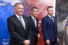 Kiska, Babiš a Pellegrini otevřeli výstavu o Československu