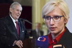 Senátoři: Zeman ohrozil bezpečnostní zájmy Česka. A Šlechtová plýtvala státními penězi