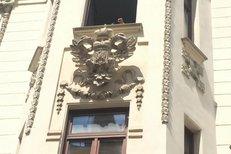 Do Orlí ulice v Brně se po 100 letech vrátil císařský znak.
