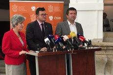 Hamáček na tiskovce: Za Pocheho konkrétní jméno nemáme, zahraničí může být bez řádného vedení týdny až měsíce