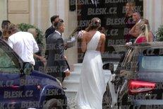Utajená svatba Hrdličky s Plíškovou v Monaku! Dvanáct hostů a dcera Borhyové družička
