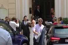 Plíšková Hrdlička svatba