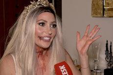 Kerndlová slavila Halloween jako mrtvá nevěsta: Podívejte, jak si vyzdobila byt!