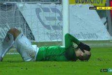 Jablonec - Slavia: Lischka hlavičkoval v obrovské šanci