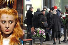Pohřeb Marie Kyselkové alias princezny Lady