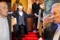 Švehlík řádně zapil premiéru filmu Na střeše: Domů se kymácel ze schodů, museli mu pomáhat!