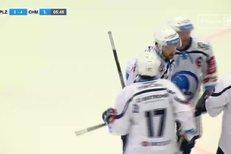 Plzeň - Chomutov: Moravčík střelou od modré propálil vše co mu stálo v cestě, 4:4