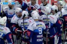 Liberec - Kometa Brno: Petr Holík v prodloužení rozhodl o vítězství hostů, 2:3