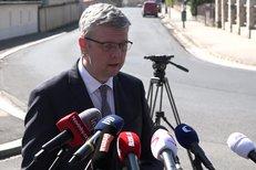 Karel Havlíček po setkání s prezidentem v Lánech