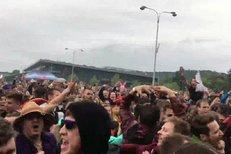 Brněnští studenti slavili na výstavišti Majáles.