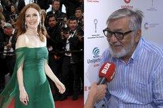 Do Varů míří zrzka Julianne Mooreová, hvězda Hannibala! Bartoška ocenil její krásu