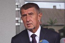 Andrej Babiš tisková konference