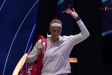Turnaj mistryň: Kvitová - Ósakaová. Češka prohrála po třech setech