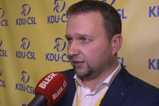 Nový předseda KDU-ČSL Marian Jurečka