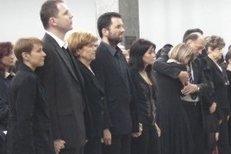 Pohřeb Antonína Baudyše