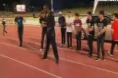 Sprinter Usain Bolt dokázal, že na tanečním parketu by se neztratil