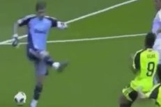 Iker Casillas si vybral slabší chvilku