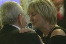 Eliška Balzerová na večírku laškovala s manželem. Stále se upřímně milují