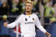 David Beckham skóroval přímo z rohu