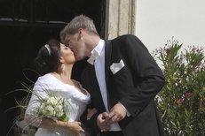 Ilona Csáková se provdala za Radka Voneše