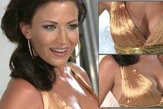 Gabriela Partyšová má pořád super postavu. Při focení pro reklamu na sebe oblékla nádherné šaty