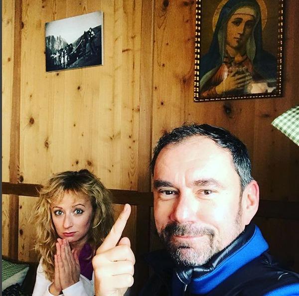 Emanuele Ridi a Lucie Hunčárová