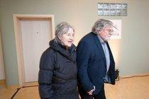 I po mnoha letech manželství se Kačer s Divíškovou drží za ruce