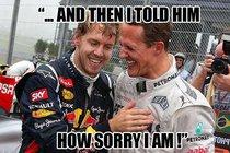 Zdrcený kolega Schumachera: Slavný idol už mu bohužel neporadí...