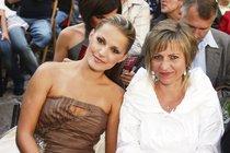 Šárka Vaňková s maminkou.
