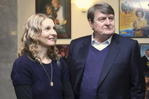 Ladislav Štaidl a jeho bývalá partnerka Michaela.
