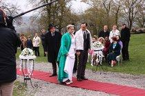 Svatba v županech v Přístavu: Zmrzlá nevěsta Kociánová!