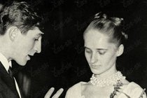 První svatba Júlia Satinského s baletkou Olgou