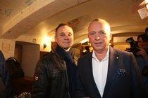 Karel Voříšek v sádře: Zranění má od partnera!