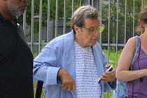 Americký herec Al Pacino: Kmotr v noční košili!