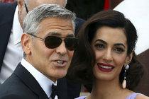 George Clooney se chlubil manželkou Amal: Koukejte, je jak proutek!