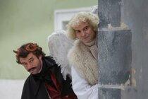 Drsné natáčení Anděl Páně 2: Dvořák a Trojan 12 hodin v mrazu!