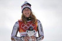 Ester Ledecká má silnou podporu.