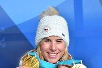 Ester Ledecká a její dvě zlaté medaile z olympiády v Pchjongčchangu