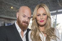 Simona Krainová s manželem Karlem