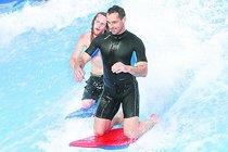 Česko zaplaví surfařská vlna: Šebrle mokrý jako myš