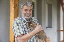Radim Uzel ukázal, jak bydlí v domku u Berounky.