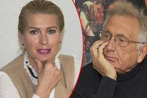 Vyšťavená Menzelová o manželovi: Přála bych si, aby byl mnohem bohatší