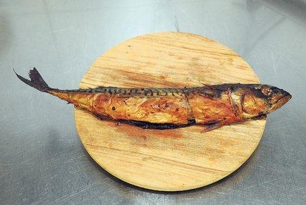 Makrela kuchaná v marinádě