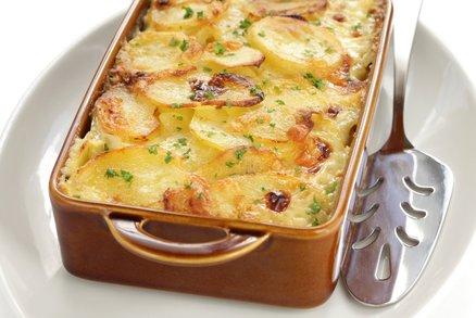 Zapečené brambory s tymiánem