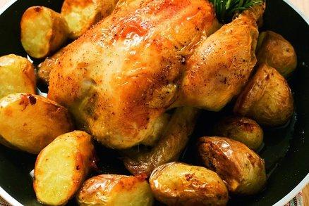 Maso a nové brambory