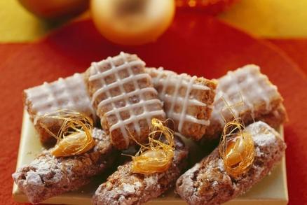 Lískooříškové keksy a Mandlové pásky