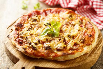 Rohlíková pizza