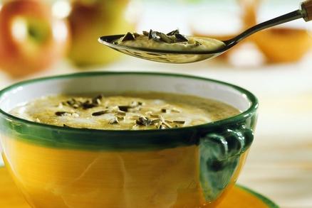 Krémová polévka z dýně