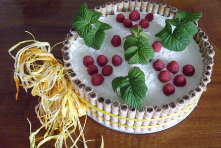 Šarlotka s ovocem
