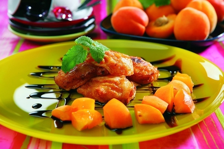 Smažené meruňky